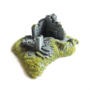 Javis Countryside Scenic Terain Ruined House Corner No 1 Wargame Railway Modelling
